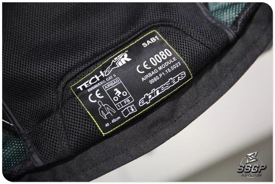 [ 气囊保护 ] 顶级保护装备 GP TECH V2,尖端骑行守护者 !-第2张图片-春风行摩托车之家
