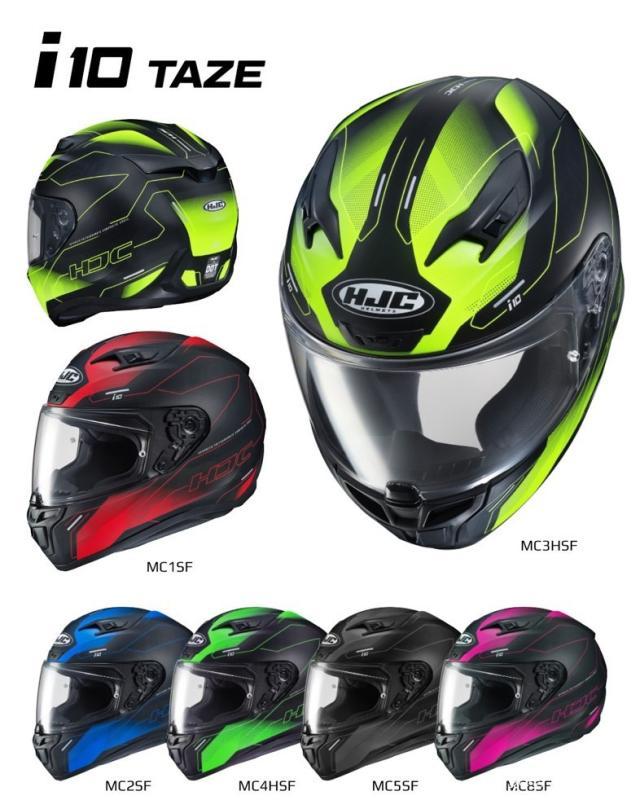 HJC推出i10系列头盔 将取代目前主打的CL-17型号-第3张图片-春风行摩托车之家