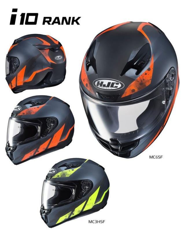 HJC推出i10系列头盔 将取代目前主打的CL-17型号-第5张图片-春风行摩托车之家