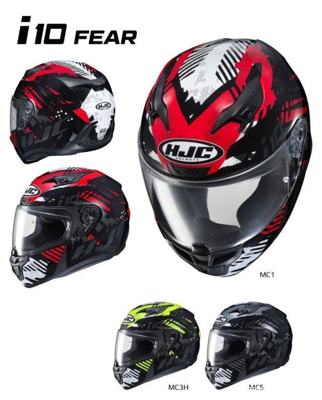 HJC推出i10系列头盔 将取代目前主打的CL-17型号-第4张图片-春风行摩托车之家