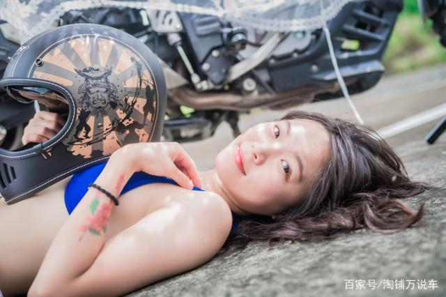 台湾美女测评 M2R MX-2 SV复古头盔-第3张图片-春风行摩托车之家