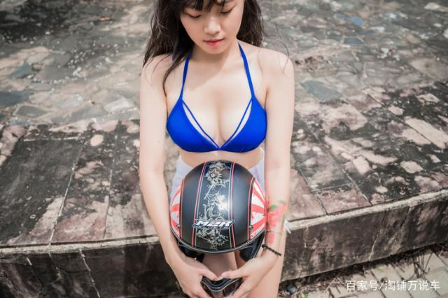 台湾美女测评 M2R MX-2 SV复古头盔-第7张图片-春风行摩托车之家