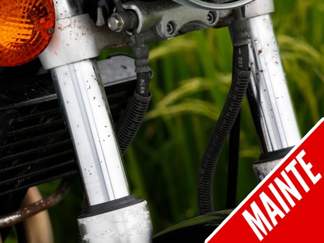 轻松学会更换摩托车前叉内管的小技巧!-第1张图片-春风行摩托车之家