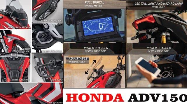 本田ADV150国内售价曝光 36980元的价格你能接受吗-第4张图片-春风行摩托车之家