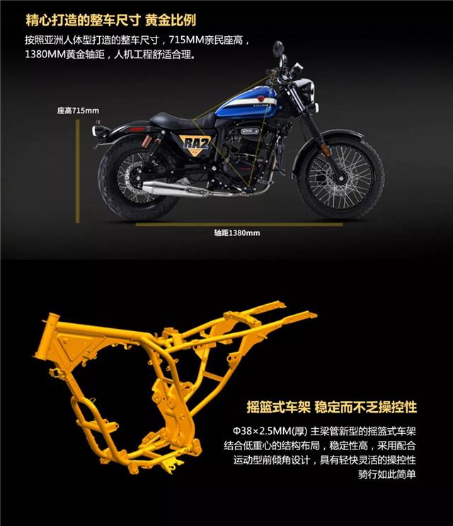 赛科龙复古运动巡航RA2 轻松解锁玩车新姿势-第14张图片-春风行摩托车之家
