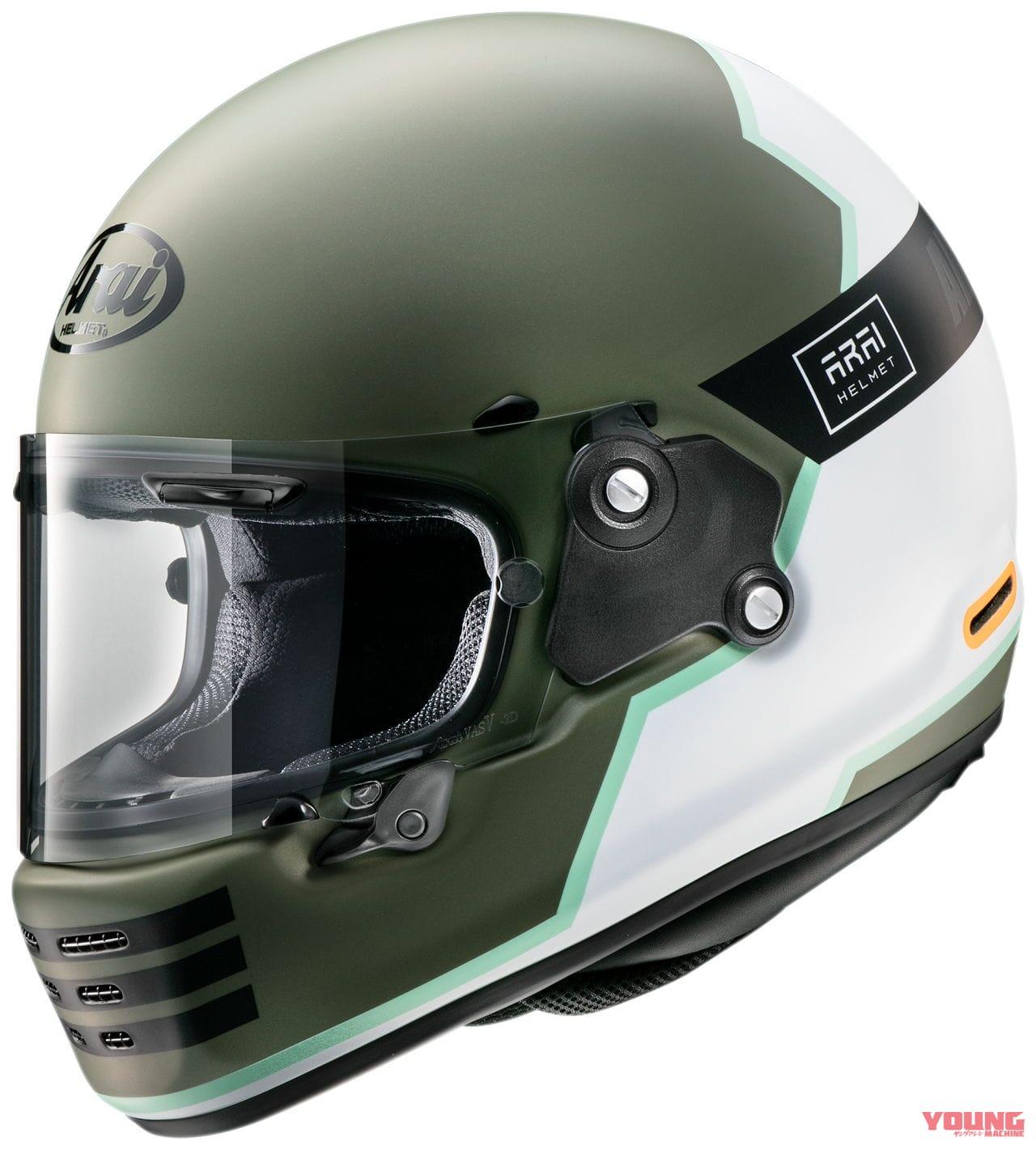 Arai头盔推出「RAPIDE-NEO」全新彩绘-第4张图片-春风行摩托车之家