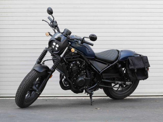 新车提前看:本田Rebel 500下月上市 车型解读先睹为快-第5张图片-春风行摩托车之家