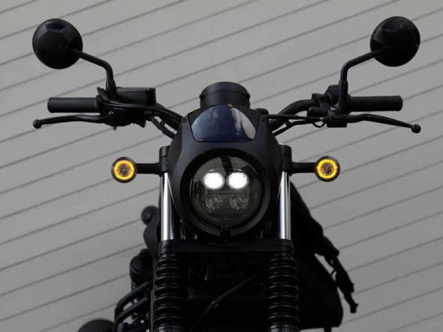 新车提前看:本田Rebel 500下月上市 车型解读先睹为快-第6张图片-春风行摩托车之家