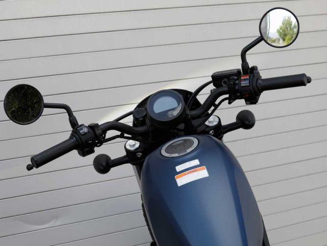 新车提前看:本田Rebel 500下月上市 车型解读先睹为快-第7张图片-春风行摩托车之家