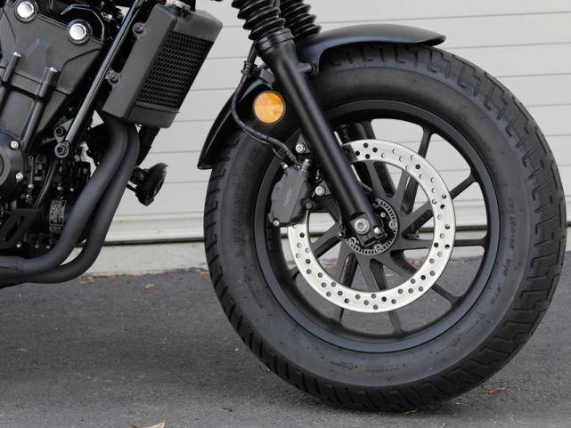 新车提前看:本田Rebel 500下月上市 车型解读先睹为快-第12张图片-春风行摩托车之家