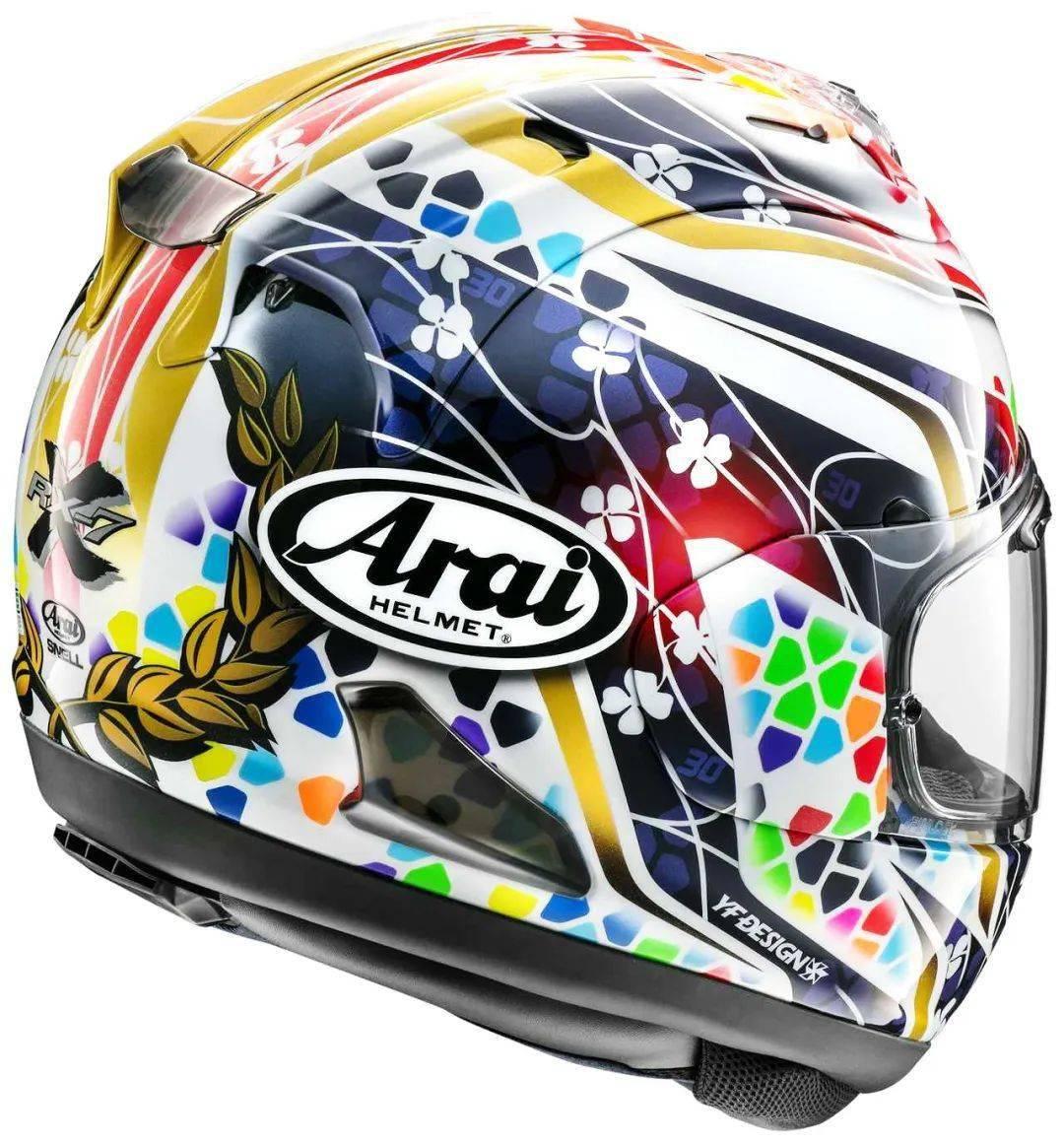 日本头盔品牌 Arai 新图案头盔RX-7X Nakagami GP2-第1张图片-春风行摩托车之家