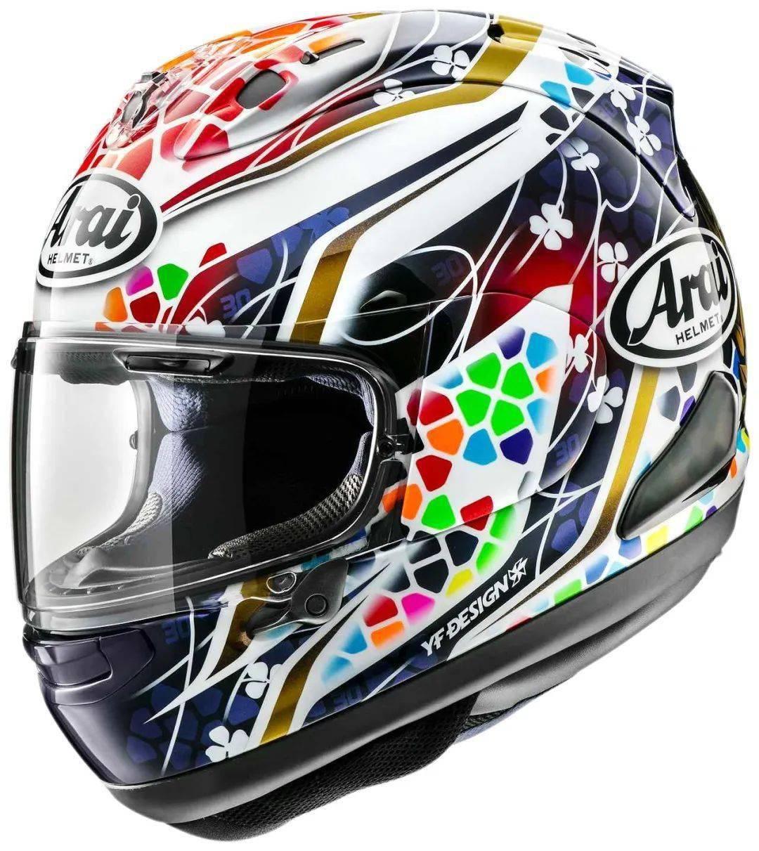 日本头盔品牌 Arai 新图案头盔RX-7X Nakagami GP2-第2张图片-春风行摩托车之家