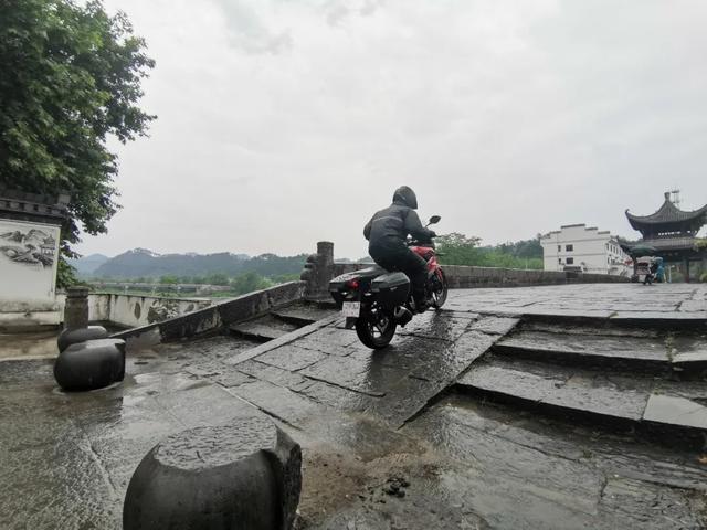 雨中穿黄山—CBF190X 1200公里摩游记2-第7张图片-春风行摩托车之家