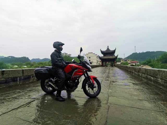 雨中穿黄山—CBF190X 1200公里摩游记2-第8张图片-春风行摩托车之家
