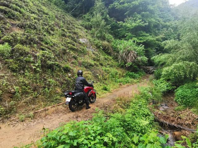 雨中穿黄山—CBF190X 1200公里摩游记2-第16张图片-春风行摩托车之家