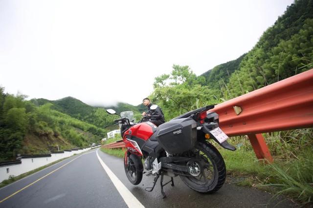 白际天路云中行—CBF190X 1200公里摩游记3-第1张图片-春风行摩托车之家