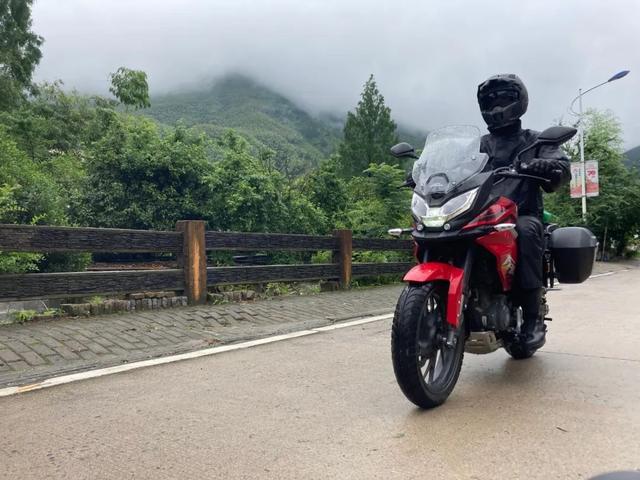白际天路云中行—CBF190X 1200公里摩游记3-第3张图片-春风行摩托车之家