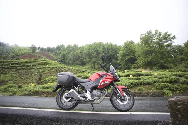 白际天路云中行—CBF190X 1200公里摩游记3-第7张图片-春风行摩托车之家
