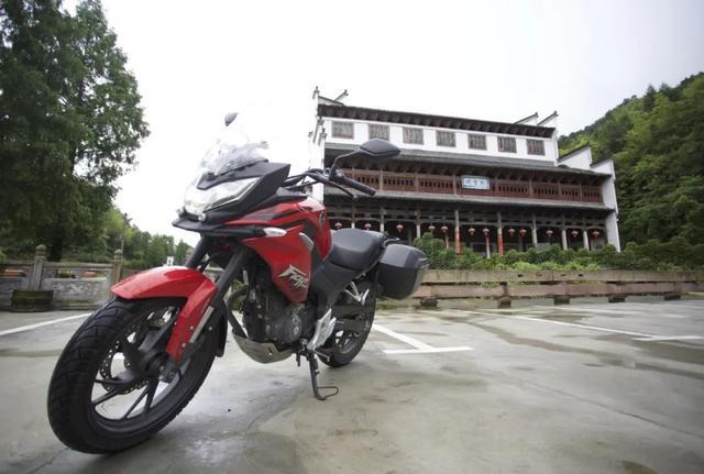 白际天路云中行—CBF190X 1200公里摩游记3-第12张图片-春风行摩托车之家