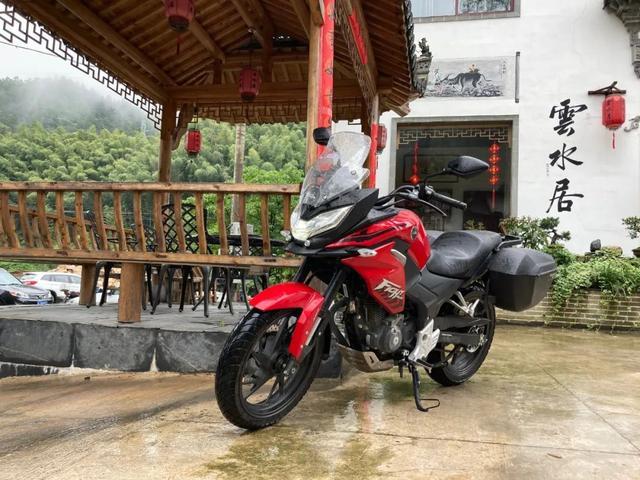 白际天路云中行—CBF190X 1200公里摩游记3-第13张图片-春风行摩托车之家