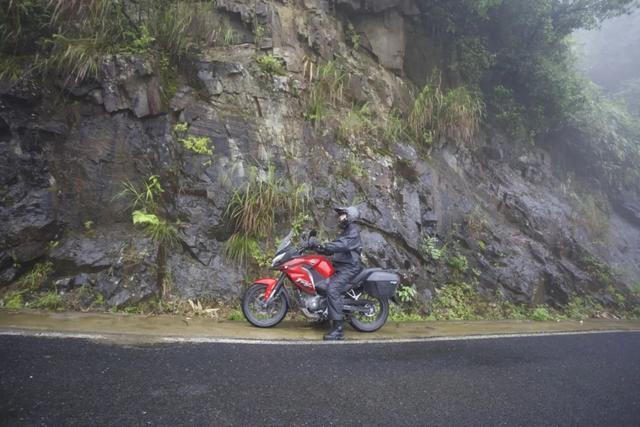 白际天路云中行—CBF190X 1200公里摩游记3-第14张图片-春风行摩托车之家