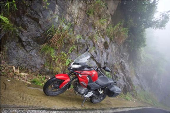 白际天路云中行—CBF190X 1200公里摩游记3-第18张图片-春风行摩托车之家