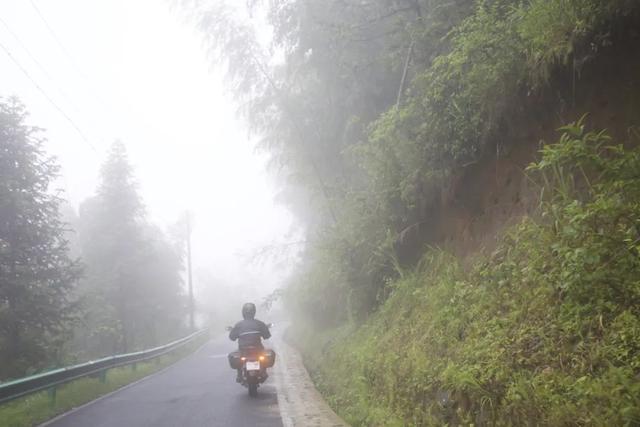 白际天路云中行—CBF190X 1200公里摩游记3-第17张图片-春风行摩托车之家