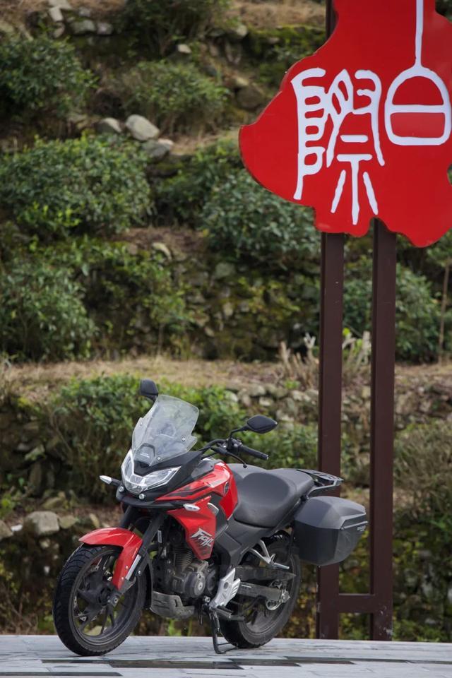 白际天路云中行—CBF190X 1200公里摩游记3-第29张图片-春风行摩托车之家