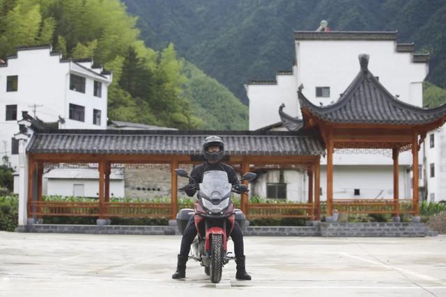 白际天路云中行—CBF190X 1200公里摩游记3-第30张图片-春风行摩托车之家
