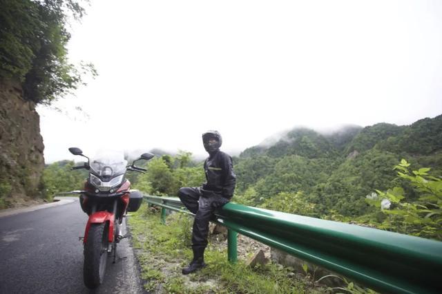 白际天路云中行—CBF190X 1200公里摩游记3-第22张图片-春风行摩托车之家