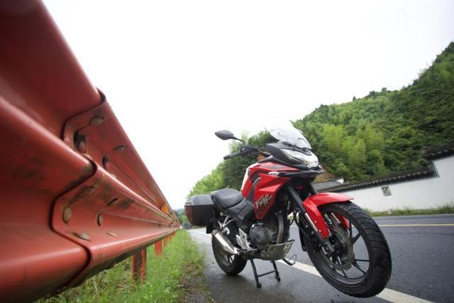 白际天路云中行—CBF190X 1200公里摩游记3-第40张图片-春风行摩托车之家