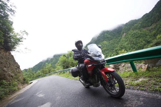 白际天路云中行—CBF190X 1200公里摩游记3-第36张图片-春风行摩托车之家