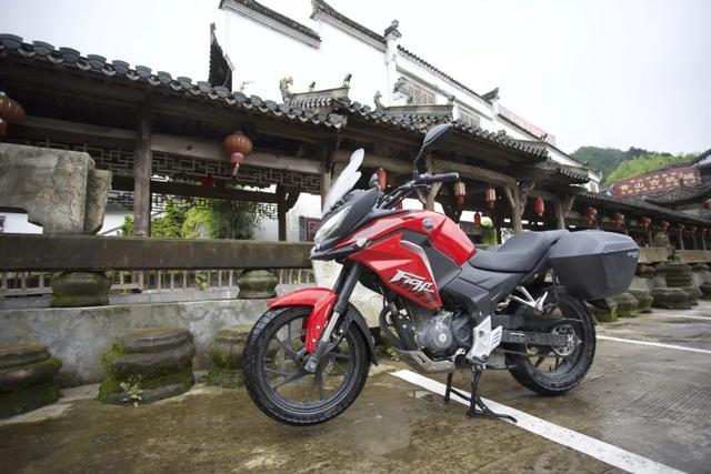 白际天路云中行—CBF190X 1200公里摩游记3-第39张图片-春风行摩托车之家