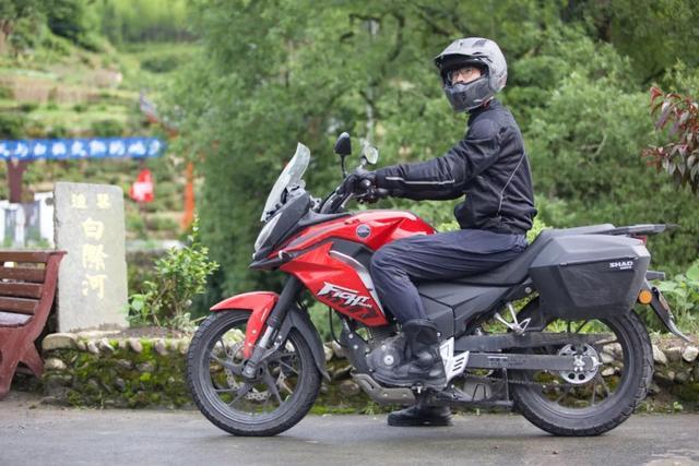 白际天路云中行—CBF190X 1200公里摩游记3-第32张图片-春风行摩托车之家