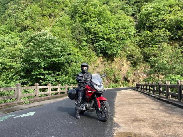 白际天路云中行—CBF190X 1200公里摩游记3-第37张图片-春风行摩托车之家