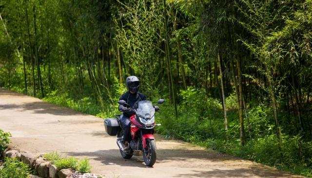 畅游井空里大峡谷—CBF190X 1200公里摩游记4-第9张图片-春风行摩托车之家