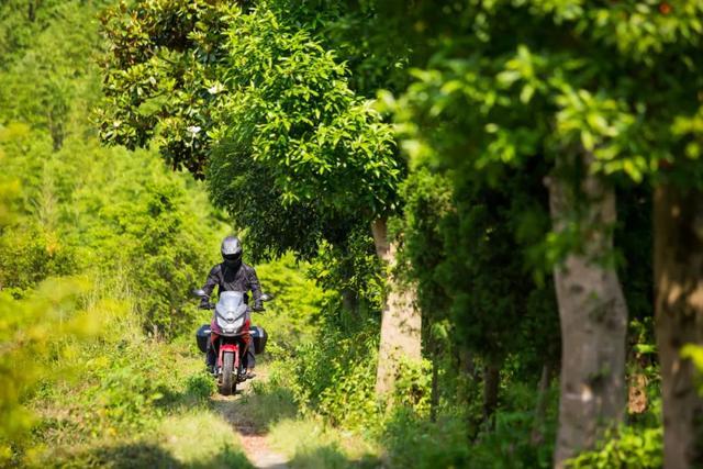 畅游井空里大峡谷—CBF190X 1200公里摩游记4-第17张图片-春风行摩托车之家