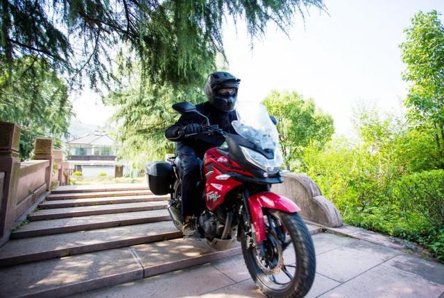 畅游井空里大峡谷—CBF190X 1200公里摩游记4-第16张图片-春风行摩托车之家