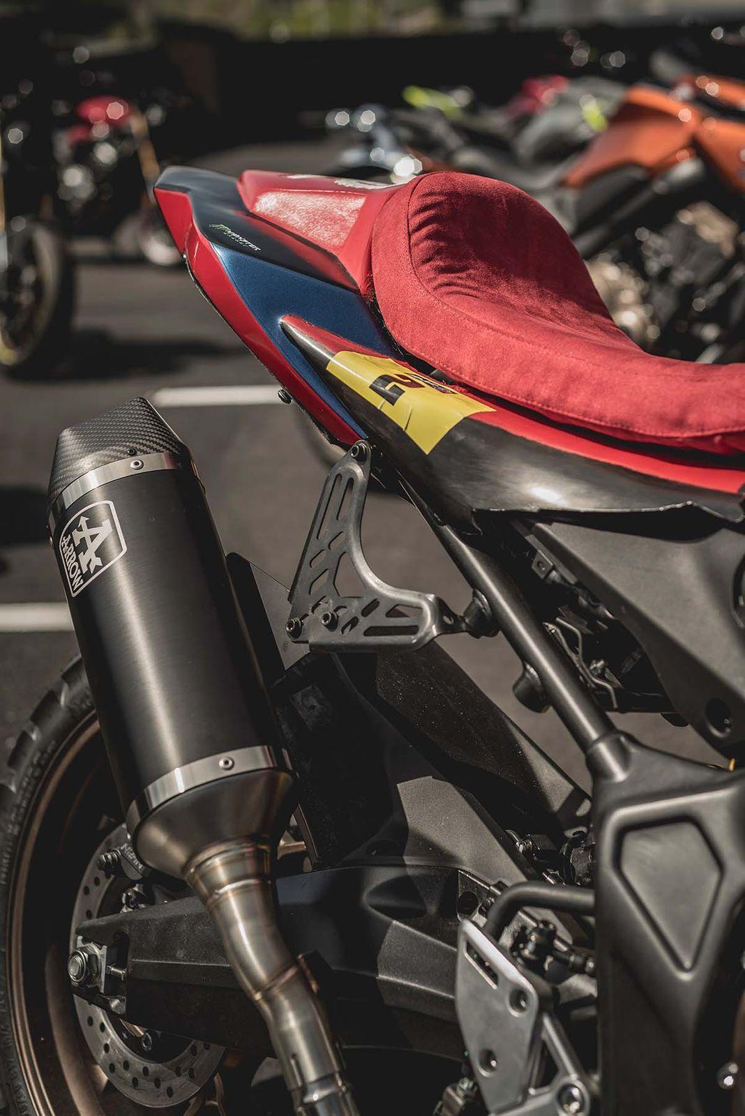 致敬达卡拉力赛!HONDA「CB650R」改装款-第8张图片-春风行摩托车之家