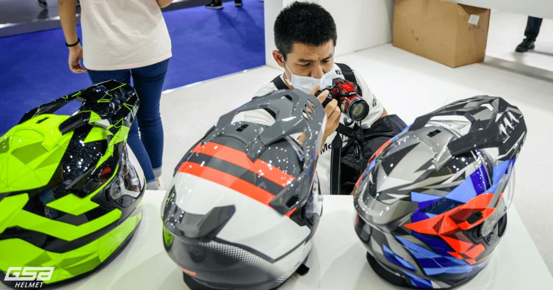 3年磨一剑 GSB头盔品牌强势登陆摩博会-第11张图片-春风行摩托车之家