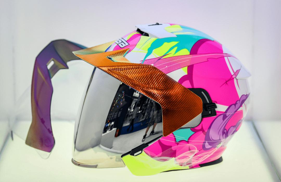 3年磨一剑 GSB头盔品牌强势登陆摩博会-第7张图片-春风行摩托车之家