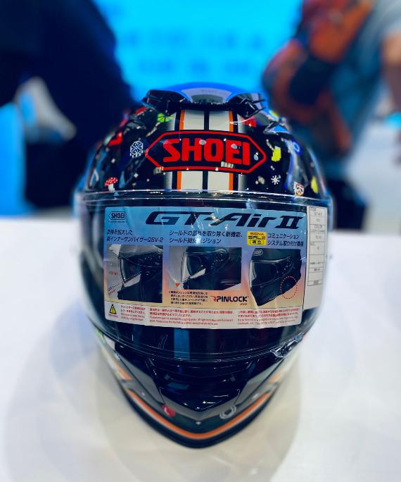 SHOEI摩博会发布两款新花色头盔,马奎斯亲笔签名免费送!-第6张图片-春风行摩托车之家