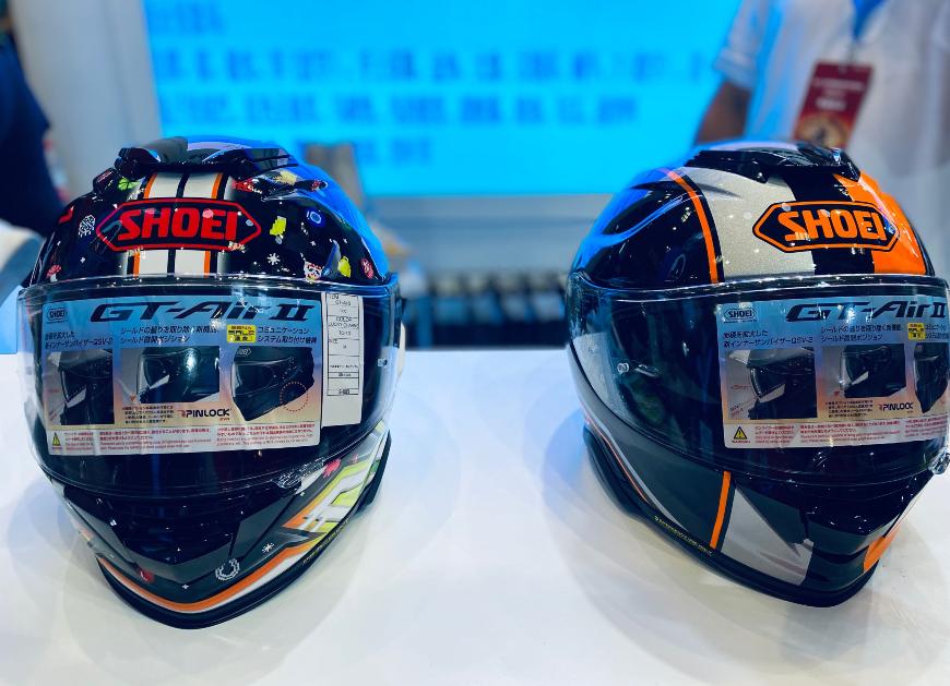 SHOEI摩博会发布两款新花色头盔,马奎斯亲笔签名免费送!-第5张图片-春风行摩托车之家
