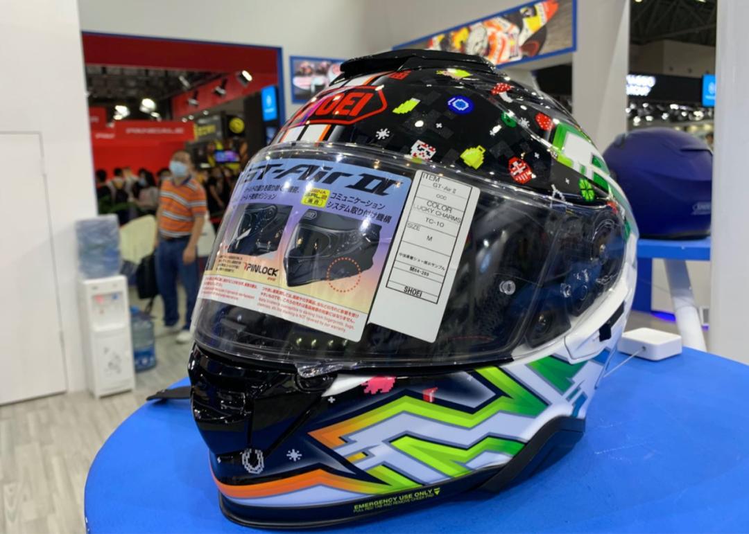 SHOEI摩博会发布两款新花色头盔,马奎斯亲笔签名免费送!-第8张图片-春风行摩托车之家