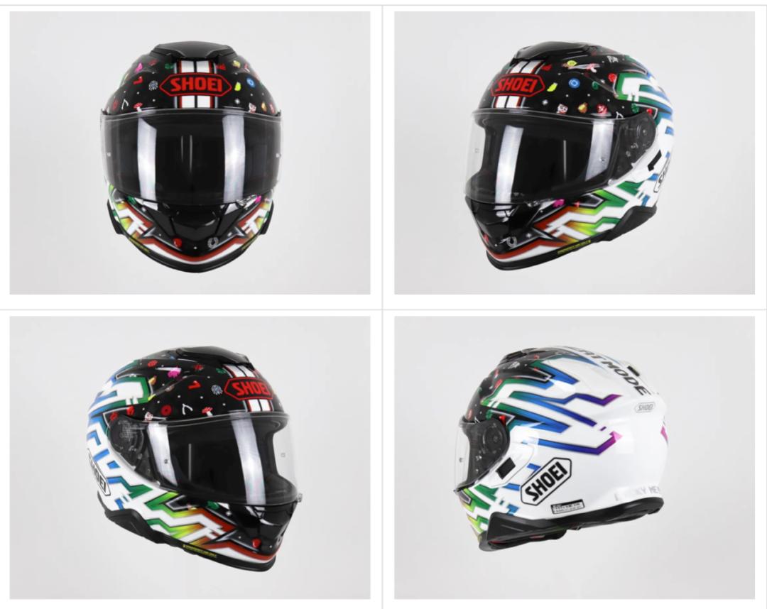 SHOEI摩博会发布两款新花色头盔,马奎斯亲笔签名免费送!-第9张图片-春风行摩托车之家