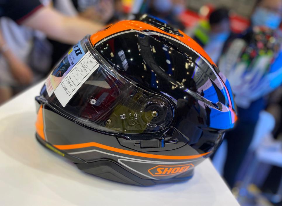SHOEI摩博会发布两款新花色头盔,马奎斯亲笔签名免费送!-第12张图片-春风行摩托车之家