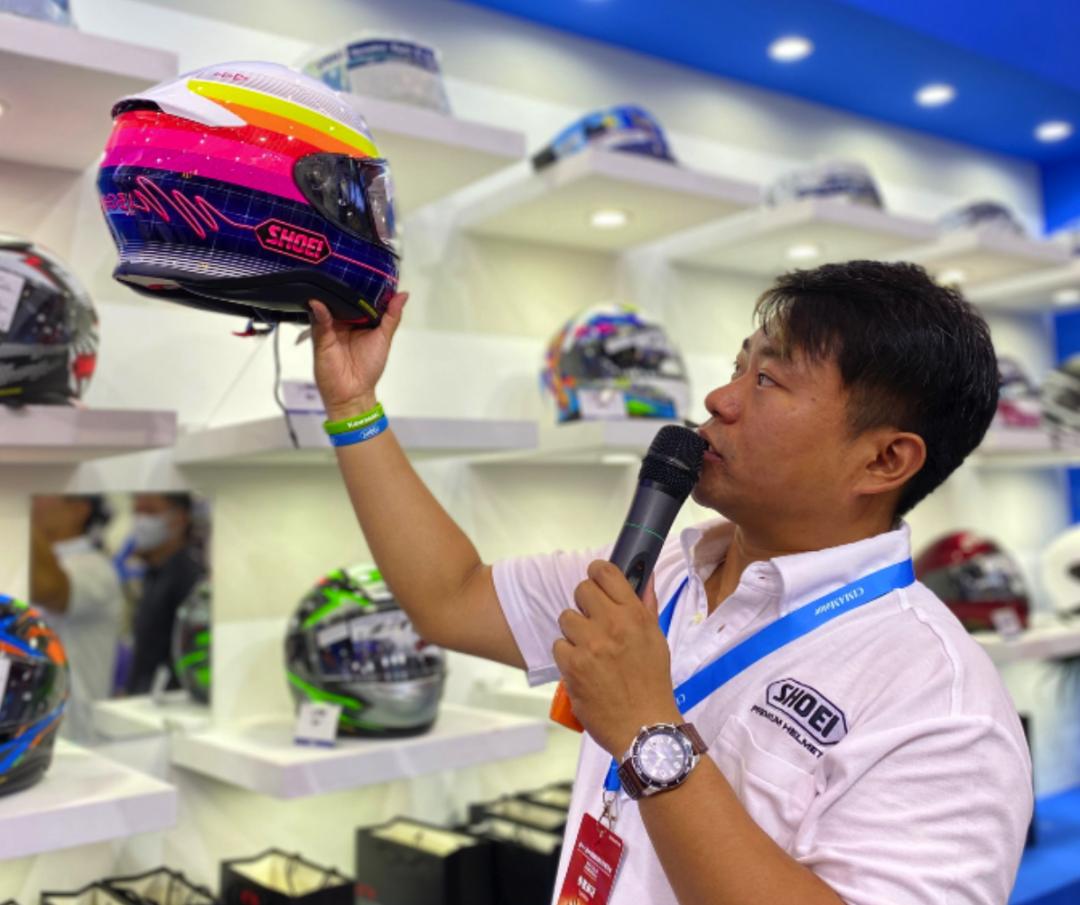 SHOEI摩博会发布两款新花色头盔,马奎斯亲笔签名免费送!-第20张图片-春风行摩托车之家