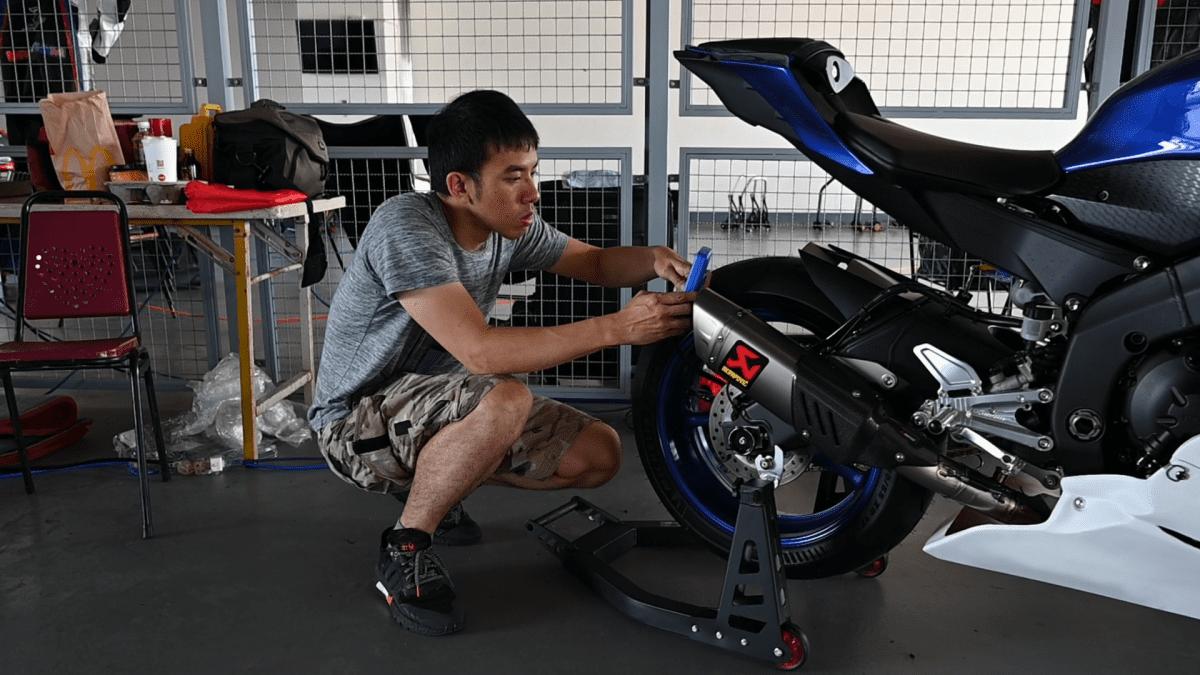 雅马哈YAMAHA YZF-R6 下赛道第一阶段改装清单&介绍!-第3张图片-春风行摩托车之家