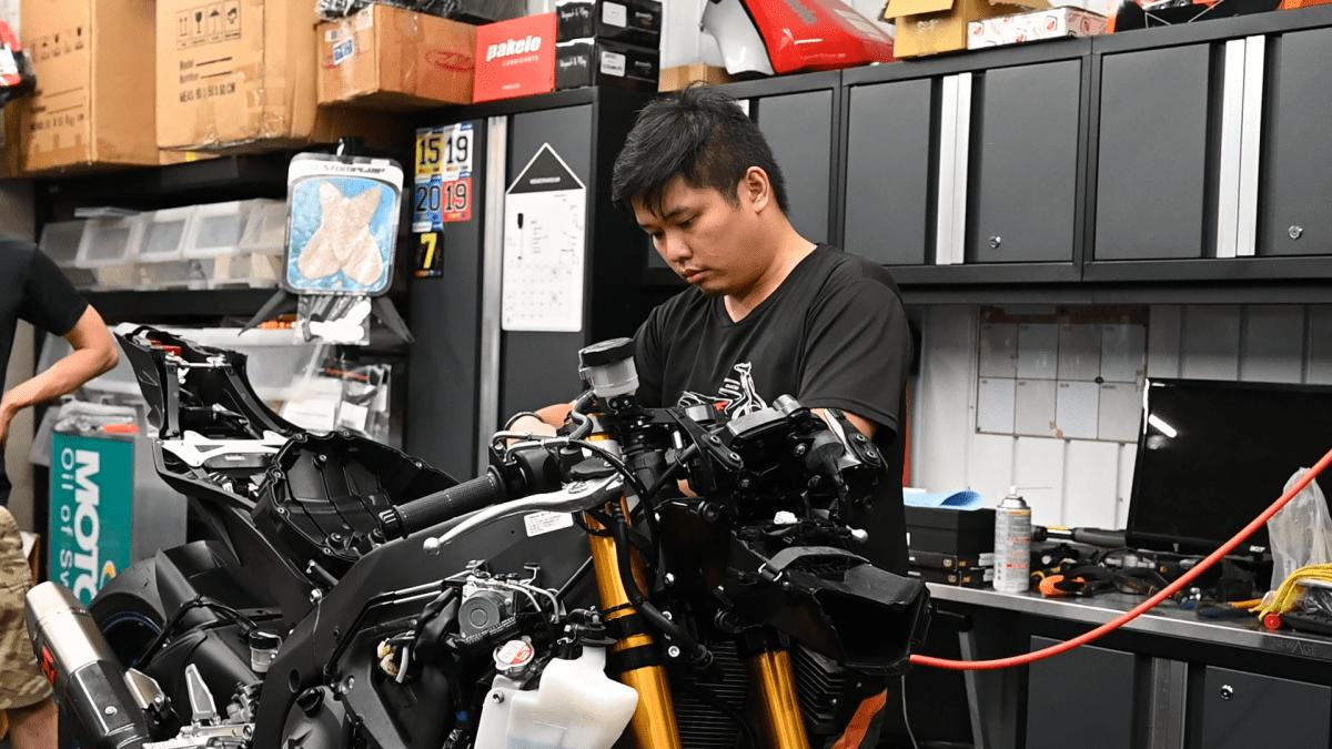 雅马哈YAMAHA YZF-R6 下赛道第一阶段改装清单&介绍!-第18张图片-春风行摩托车之家