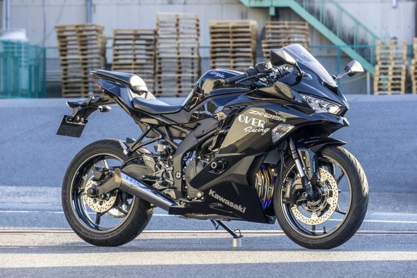 OVER Racing推出「ZX-25R」全段排气管/脚踏后移-第3张图片-春风行摩托车之家